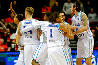 GRONINGEN - Basketbal, Donar - Spirou Basket, Martiniplaza, Europe Cup, seizoen 2018-2019, 20-11-2018, Donar viert de zege