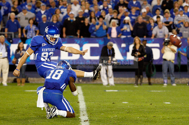 in the first half of UK vs Georgia on Sat. Oct. 23, 2010. Photo by Britney McIntosh | Staff