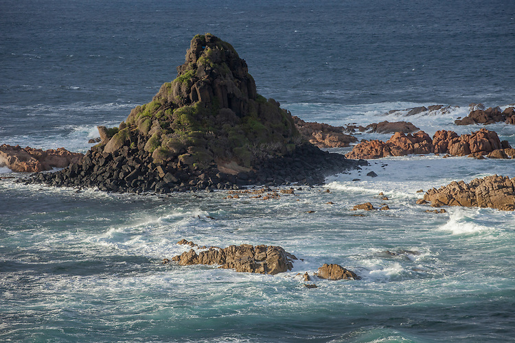 Offshore rocks are inhabited by Australia's largest fur-seal colony.