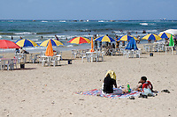Tripoli, Libya - Mediterranean Beach Scene, Summer