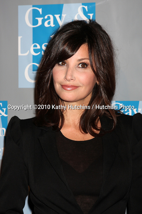 Gina Gershon.arrives at An Evening with Women - LA Gay & Lesbian Center's Gala.Beverly Hilton Hotel.Beverly Hills, CA.May 1, 2010.©2010 Kathy Hutchins / Hutchins Photo...