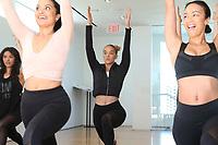31 March 2017 - Beverly Hills, California - Draya Michele, Serayah McNeill, Jasmine Sanders. Draya Michele and Friends at AloYoga. Photo Credit: AdMedia