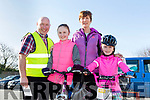 Enjoying the The Fenit Coastal Cycle in aid of St. Brendan's National School on Saturday were the O'Connell Family Padraig O'Connell, Brenda O'Connell, Ashling O'Connell, Aoife O'Connell