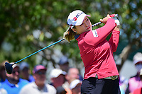 Ha Na Jang (KOR) watches her tee shot on 10 during round 1 of  the Volunteers of America Texas Shootout Presented by JTBC, at the Las Colinas Country Club in Irving, Texas, USA. 4/27/2017.<br /> Picture: Golffile | Ken Murray<br /> <br /> <br /> All photo usage must carry mandatory copyright credit (&copy; Golffile | Ken Murray)