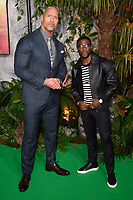 Dwayne Johnson &amp; Kevin Hart at the &quot;Jumanji: Welcome to the Jungle&quot; premiere at the Vue West End, Leicester Square, London, UK. <br /> 07 December  2017<br /> Picture: Steve Vas/Featureflash/SilverHub 0208 004 5359 sales@silverhubmedia.com