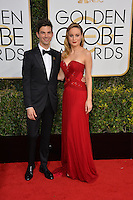 Brie Larson &amp; Alex Greenwald at the 74th Golden Globe Awards  at The Beverly Hilton Hotel, Los Angeles USA 8th January  2017<br /> Picture: Paul Smith/Featureflash/SilverHub 0208 004 5359 sales@silverhubmedia.com