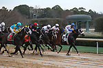 HOT SPRINGS, AR - FEBRUARY 19: The Start of the Southwest stakes at Oaklawn Park on February 19, 2018 in Hot Springs, Arkansas. (Photo by Justin Manning/Eclipse Sportswire/Getty Images)