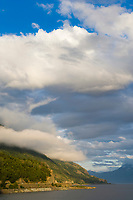 Clouds over the Turnagain arm, southcentral, Alaska.