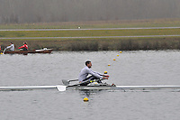 027 Walbrook SEN.1x..Marlow Regatta Committee Thames Valley Trial Head. 1900m at Dorney Lake/Eton College Rowing Centre, Dorney, Buckinghamshire. Sunday 29 January 2012. Run over three divisions.