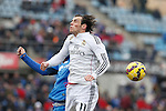Real Madrid´s Gareth Bale during La Liga match at Coliseum Alfonso Perez stadium  in Getafe, Spain. January 18, 2015. (ALTERPHOTOS/Victor Blanco)