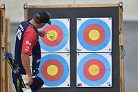 Steve Anderson USA <br /> Roma 01-09-2017 Stadio dei Marmi <br /> Roma 2017 Hyundai Archery World Cup Final <br /> Finale Coppa del mondo tiro con l'arco <br /> Foto Andrea Staccioli Insidefoto/Fitarco