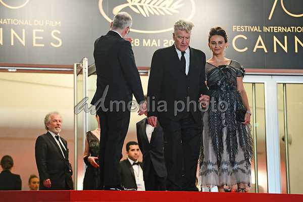 "25 May 2017 - Cannes, France - . ""Twin Peaks"" Premiere - The 70th Annual Cannes Film Festival. Photo Credit: Jan Sauerwein/face to face/AdMedia"