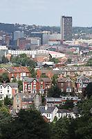 Sheffield City Centre Skyline.<br /> 26/06/2016<br /> <br /> Mandatory Credit - Alex Roebuck / www.alexroebuck.co.uk