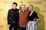 Actor Mario Casas, director Marcelo Peñeyro and actress Belen Rueda attend the Ismael film photocall at Tepa Palace hotel in Madrid, Spain. December 23, 2013. (ALTERPHOTOS/Victor Blanco)