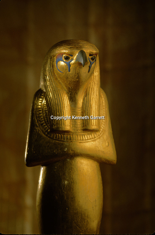 Statue of Horus the elder, Herwer, KV 62, Tutankhamun and the Golden Age of the Pharaohs, Page 205