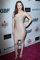 """HOLLYWOOD, CA - NOVEMBER 19: Desiree Hall arriving at the """"G.B.F."""" Los Angeles Premiere held at the Chinese 6 Theater Hollywood on November 19, 2013 in Hollywood, California. (Photo by David Acosta/Celebrity Monitor)"""