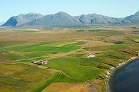 Vestra-Súlunes og Eystra-Súlunes séð til norðurs, Hvalfjarðarsveit áður Leirár- og Melasveit  /  Estra-Sulunes  and Eystra-Sulunes viewing north, Hvalfjardarsveit former Leirár- og Melasveit