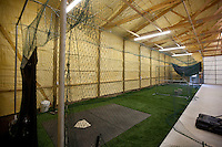 In 2005 the Nimmo family built in a 2688 sq. ft. barn behind their home that now houses a batting cage that has helped their son, Brandon Nimmo, perfect his left-handed swing. The investment paid off when the New York Mets selected Nimmo No. 13 overall in the 2011 MLB draft. (Photo by James Brosher)