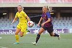 FC Barcelona vs Chelsea FC: 1-1.<br /> Pre-game.<br /> Magdalena Eriksson vs Toni Duggan.