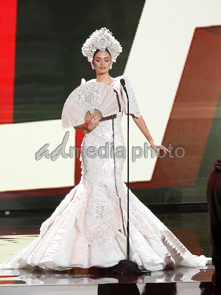 16 December 2015 - Las Vegas, Nevada - Miss Philippines, Pia Alonzo Wurtzbach.  2015 Miss Universe Pageant National Costumes. Photo Credit: MJT/AdMedia
