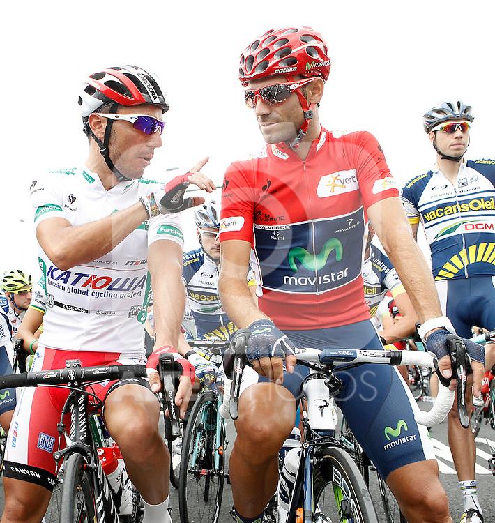during the stage of La Vuelta 2012 between Barakaldo and Valdezcaray.August 21,2012. (ALTERPHOTOS/Acero)