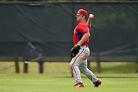 Philadelphia Phillies Chase Harris (11) during a minor league spring training intrasquad game on March 27, 2015 at the Carpenter Complex in Clearwater, Florida.  (Mike Janes/Four Seam Images)
