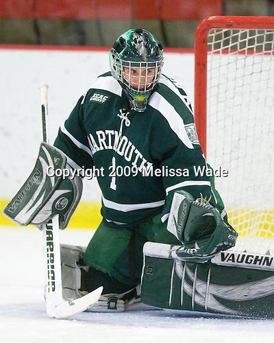 Jody O'Neill (Dartmouth - 1) -  - The Dartmouth College Big Green defeated the Harvard University Crimson 6-2 on Sunday, November 29, 2009, at Bright Hockey Center in Cambridge, Massachusetts.