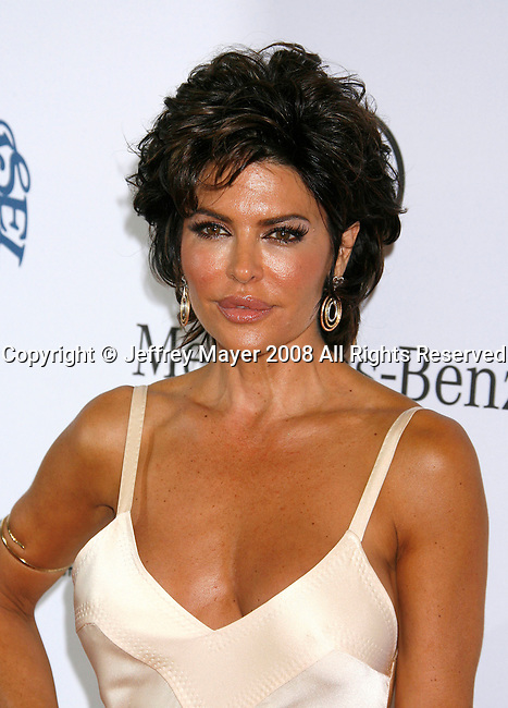 BEVERLY HILLS, CA. - October 25: Actress Lisa Rinna arrives at The 30th Anniversary Carousel Of Hope Ball at The Beverly Hilton Hotel on October 25, 2008 in Beverly Hills, California.