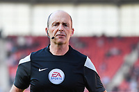 Referee Mike Dean<br /> <br /> Photographer Terry Donnelly/CameraSport<br /> <br /> The Premier League - Stoke City v Liverpool - Saturday 8th April 2017 - bet365 Stadium - Stoke-on-Trent<br /> <br /> World Copyright &copy; 2017 CameraSport. All rights reserved. 43 Linden Ave. Countesthorpe. Leicester. England. LE8 5PG - Tel: +44 (0) 116 277 4147 - admin@camerasport.com - www.camerasport.com