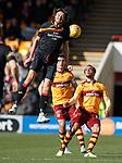 Adam Barton rises above Charles Dunne