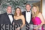 Richard, Susan Harrington, Patrick Kirrane and Jessica Markham at the New Years Eve ball in the Malton Hotel Killarney on Friday night