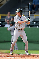 Beloit Snappers outfielder Justin Higley (25) at bat during a game against the Clinton LumberKings on August 17, 2014 at Ashford University Field in Clinton, Iowa.  Clinton defeated Beloit 4-3.  (Mike Janes/Four Seam Images)