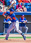 13 March 2014: New York Mets third baseman David Wright in action during a Spring Training game against the Washington Nationals at Space Coast Stadium in Viera, Florida. The Mets defeated the Nationals 7-5 in Grapefruit League play. Mandatory Credit: Ed Wolfstein Photo *** RAW (NEF) Image File Available ***