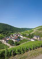 Germany, Rhineland-Palatinate, Ahr-Valley, Marienthal: wine village | Deutschland, Rheinland-Pfalz, Ahrtal, Marienthal: Weinort und Weinbaudomaene im Weinbaugebiet Ahr