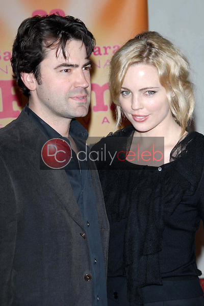 Ron Livingston and Melissa George<br />
