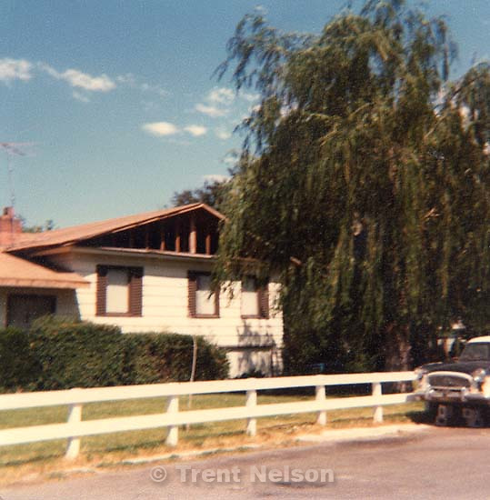 The house my father, Steve Nelson grew up in. Orem,<br />