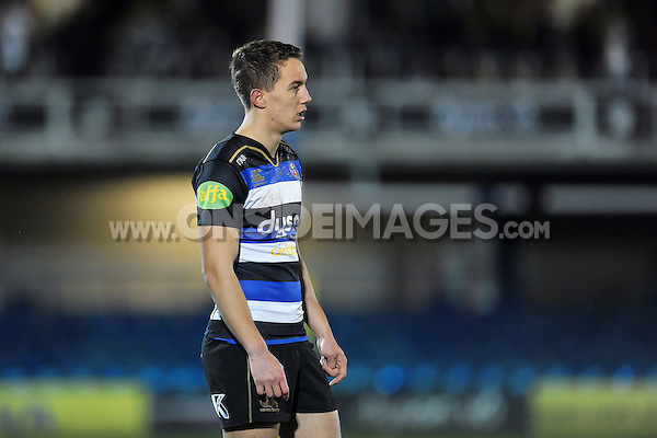Liam Forsyth of Bath United looks on during a break in play. Aviva A-League match, between Bath United and Bristol United on December 28, 2015 at the Recreation Ground in Bath, England. Photo by: Patrick Khachfe / Onside Images