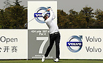 SUZHOU, CHINA - APRIL 17:  Mikko Ilonen  of Finland tees off on the 7th hole during the Round Three of the Volvo China Open on April 17, 2010 in Suzhou, China. Photo by Victor Fraile / The Power of Sport Images