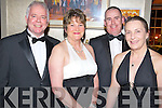 Ray Murphy, Barbara Faulkner, Martin Kelly and Ailish Kelly enjoying the gala ball at the South Pole weekend in the Malton hotel, Killarney on Saturday night.