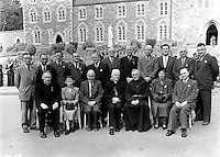 Toastal Groupoutside The Friary, Killarney in 1954.<br /> Picture by Harry MacMonagle