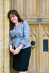 Daisy Goodwin at Christ Church during the Sunday Times Oxford Literary Festival, UK, 2-10 April 2011. <br />
