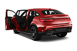Car images close up view of a 2018 Mercedes Benz GLE-Class Coupe GLE43 AMG 4MATIC 5 Door SUV doors