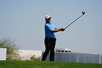 Paul Lawrie (SCO) on the 3rd during Round 2 of the Commercial Bank Qatar Masters 2020 at the Education City Golf Club, Doha, Qatar . 06/03/2020<br /> Picture: Golffile | Thos Caffrey<br /> <br /> <br /> All photo usage must carry mandatory copyright credit (© Golffile | Thos Caffrey)