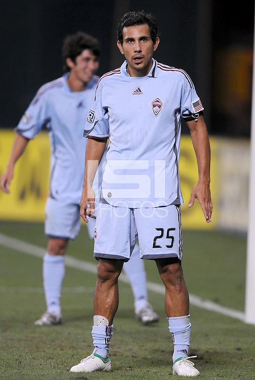 Colorado Rapids midfielder Pablo Mastroeni (25)   DC United defeated The Colorado Rapids 3-1, at RFK Stadium in Washington DC, Saturday July 18,2009.