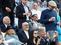 Ralph Lauren, Sean Connery, Alec Baldwin, Leonardo Di Caprio<br /> Tennis - US Open  - Grand Slam -  Flushing Meadows  2013 -  New York - USA - United States of America - Monday 9th  September 2013. <br /> &copy; AMN Images, 8 Cedar Court, Somerset Road, London, SW19 5HU<br /> Tel - +44 7843383012<br /> mfrey@advantagemedianet.com<br /> www.amnimages.photoshelter.com<br /> www.advantagemedianet.com<br /> www.tennishead.net