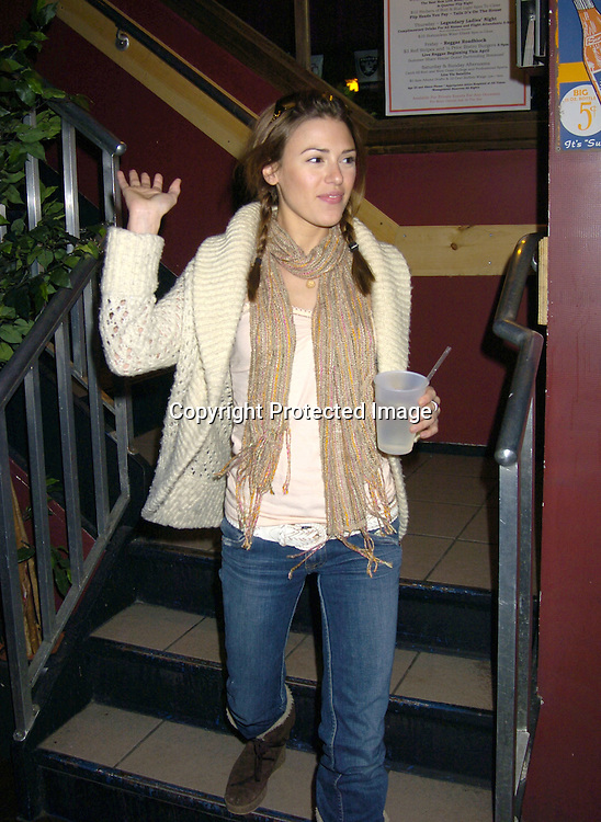 Elizabeth Hendrickson of All My Children..at a luncheon at The Town Tavern in New York City on ..January 29, 2005, with a portion of the  proceeds going to..support breast cancer research. ..Photo by Robin Platzer, Twin Images