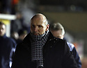 Kidderminster Harriers manager Steve Burr before the Blue Square Bet Premier match between Cambridge United and Kidderminster Harriers at the Abbey Stadium, Cambridge on 18th February, 2011 .© Kevin Coleman 2011.