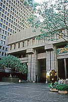 Honolulu: Financial Plaza of the Pacific, 1968. Leo S. Wou & Assoc. and Victor Gruen Assoc. Photo '82.
