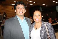 NWA Democrat-Gazette/CARIN SCHOPPMEYER Mauricio and Virginia Herrer attend Plant a Seed.
