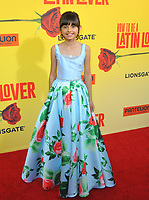 www.acepixs.com<br /> <br /> April 26 2017, LA<br /> <br /> Manelly Zepeda arriving at the premiere of 'How To Be A Latin Lover' at the ArcLight Cinemas Cinerama Dome on April 26, 2017 in Hollywood, California. <br /> <br /> By Line: Peter West/ACE Pictures<br /> <br /> <br /> ACE Pictures Inc<br /> Tel: 6467670430<br /> Email: info@acepixs.com<br /> www.acepixs.com